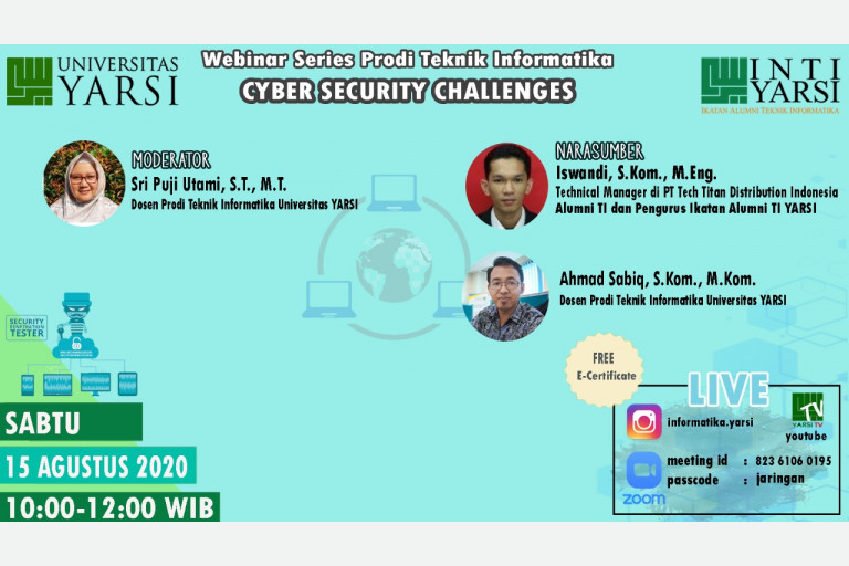 Cyber Security Challenges - 15 Agustus 2020