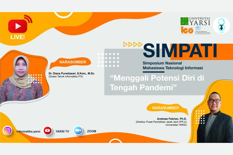 SIMPATI: Simposium Nasional Mahasiswa Teknologi Informasi - 11 November 2020